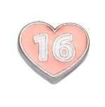 Sweet 16 - Enamel Charm
